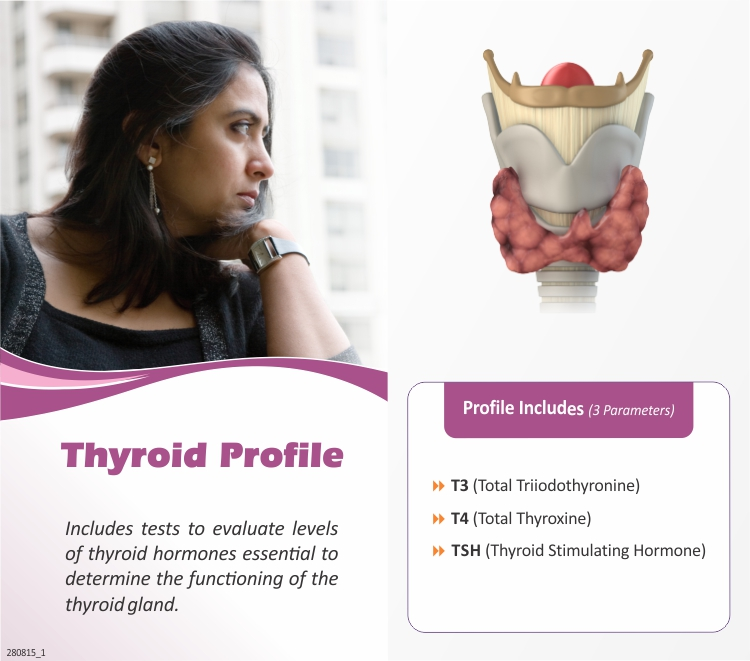 T3-T4-TSH in Pune @₹400 Only | 3 Tests | Thyrocare