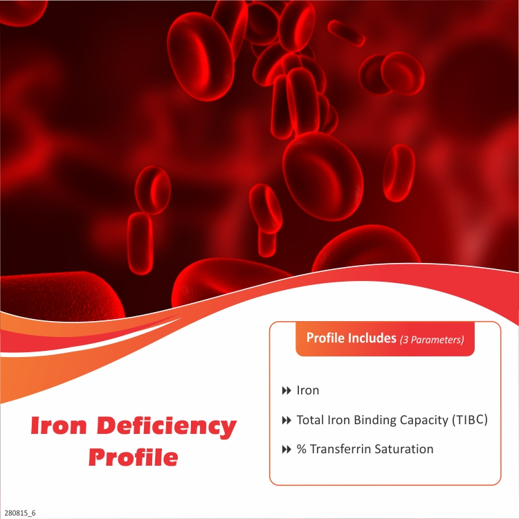 IRON DEFICIENCY PROFILE in Hyderabad @₹500 Only | 3 Tests | Thyrocare