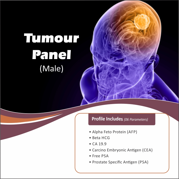 TUMOUR PANEL (MALE) in Bengaluru @₹2100 Only | 7 Tests | Thyrocare