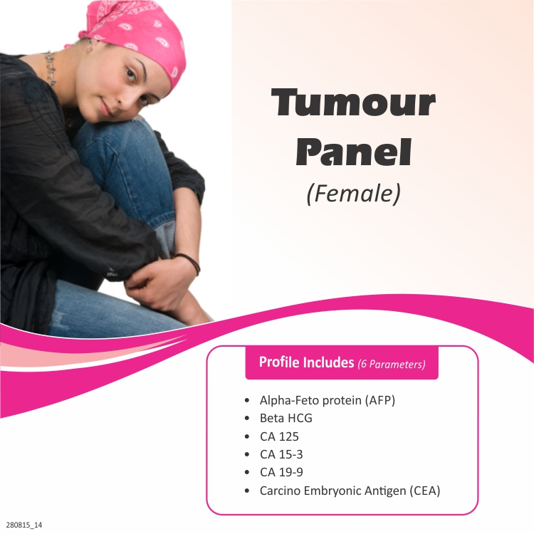 TUMOUR PANEL (FEMALE) in Hyderabad @₹2100 Only | 6 Tests | Thyrocare