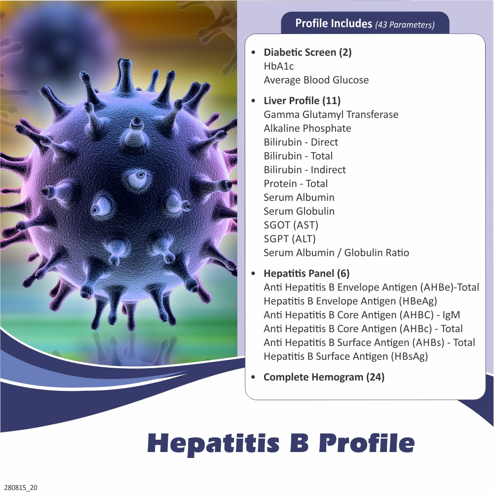Thyrocare HEPATITIS B PROFILE @Rs.2570 Only | 42 Tests | Thyrocare Packages