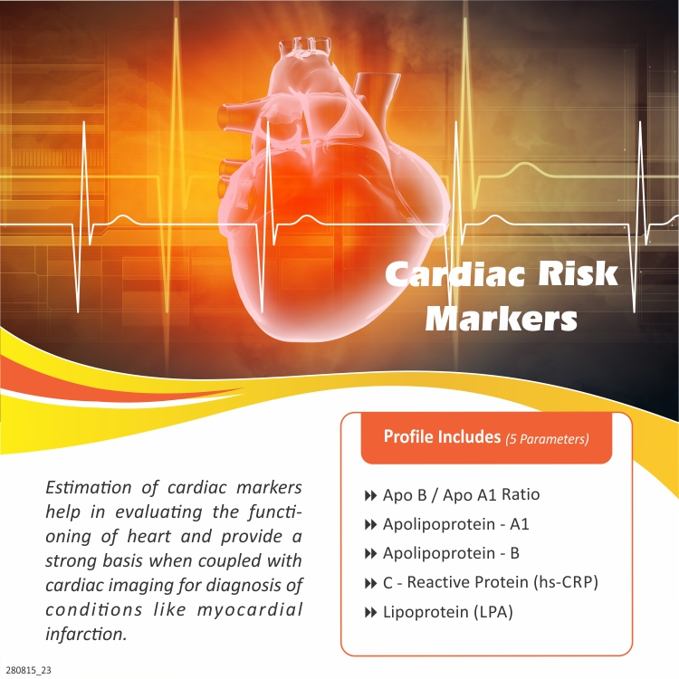 Thyrocare CARDIAC RISK MARKERS @Rs.970 Only | 5 Tests | Thyrocare Packages