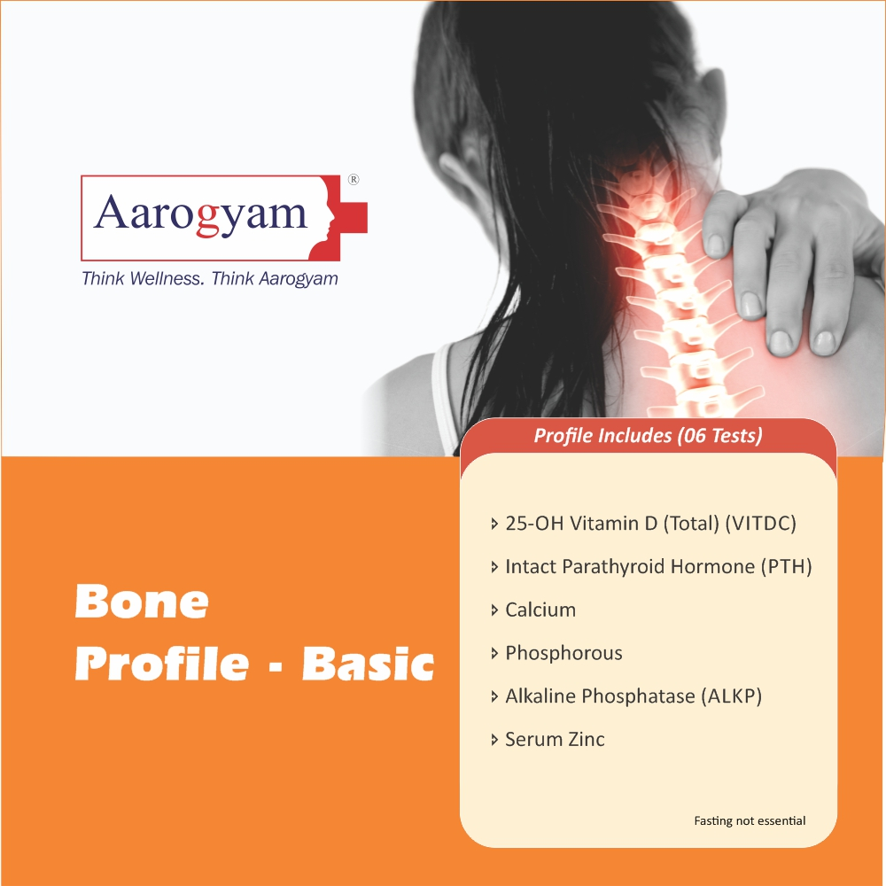 BONE PROFILE - BASIC in Pune @₹1390 Only | 6 Tests | Thyrocare