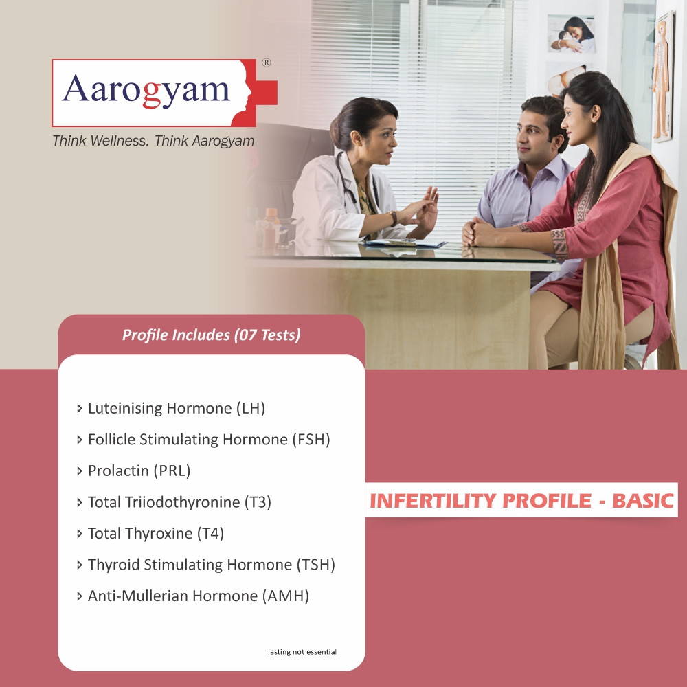 INFERTILITY PROFILE - BASIC in Pune @₹1390 Only | 7 Tests | Thyrocare