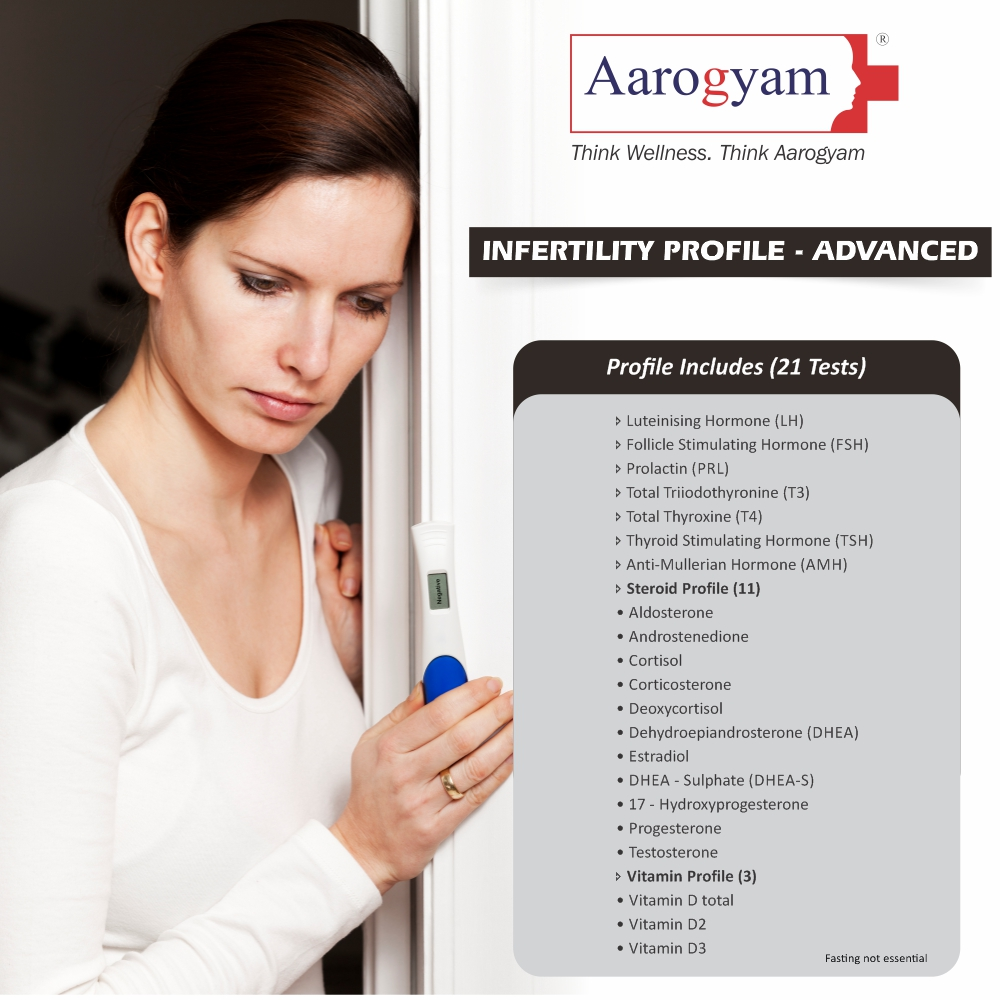 INFERTILITY PROFILE - ADVANCED in Pune @₹2820 Only | 21 Tests | Thyrocare